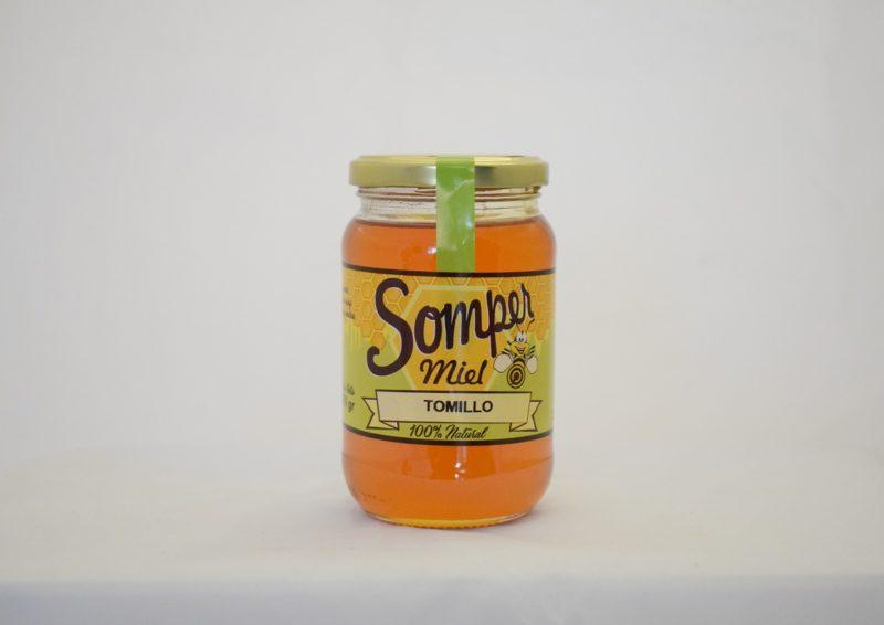 miel de tomillo miel somper