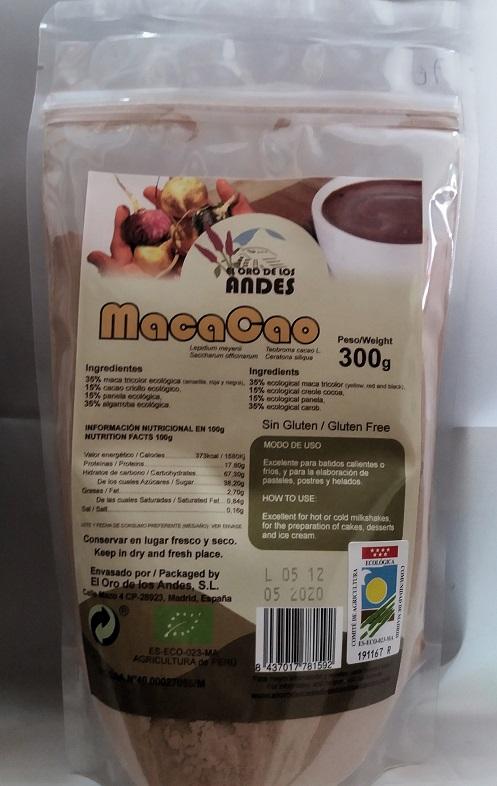 Macacao vegano miel somper
